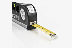 All-In-One Laser Level and measuring tape
