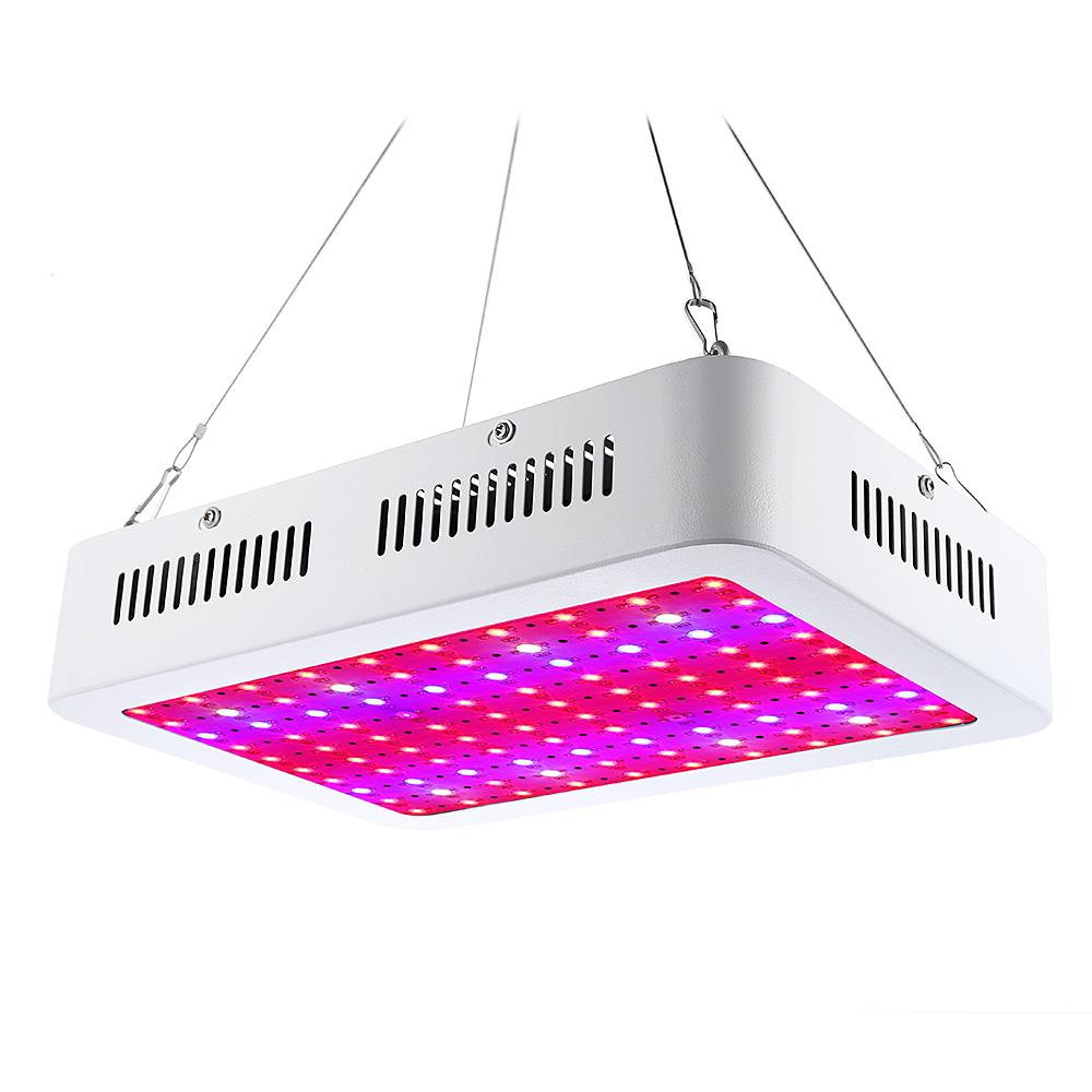 1000W (True 80W) Full Spectrum LED Grow Light High Yield for Plant Hydroponics Veg Flower Fruit Indoor Greenhouse