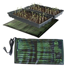 Load image into Gallery viewer, Seedling Heating Mat 50x25cm Waterproof Plant Seed Germination Propagation Clone Starter Pad