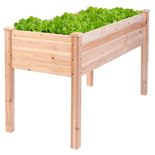 Load image into Gallery viewer, Wooden Raised Vegetable Garden Bed