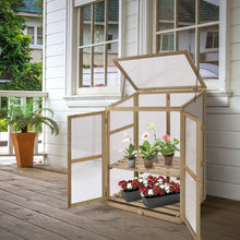 Load image into Gallery viewer, Portable Wooden Raised Greenhouse