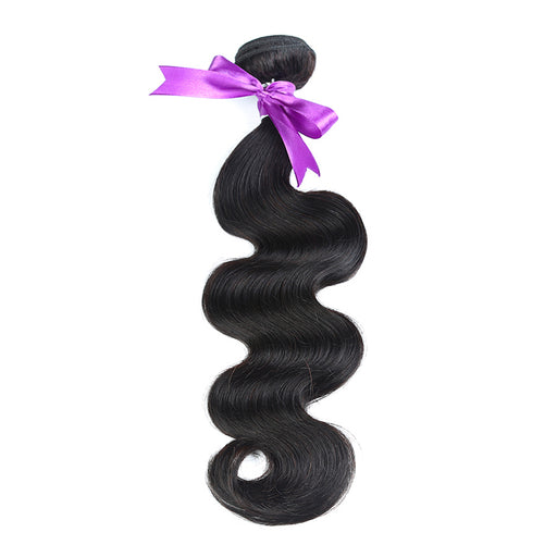 Brazilian Body Wave Hair Bundles 100% Human Hair Weave Natural Color Non Remy Hair 8-28 Inch