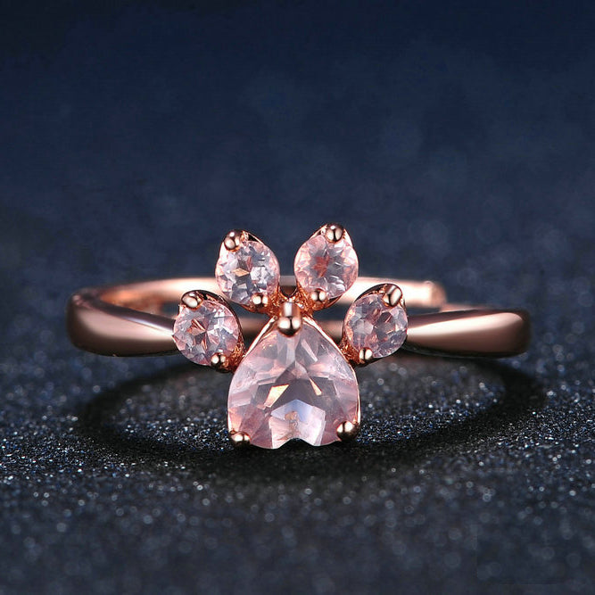 vintage engagement rings will you quartz pin ring forever wedding love