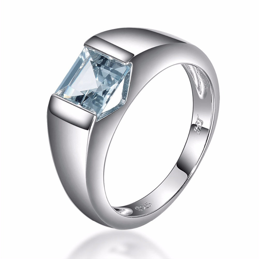 english and diamond natural vintage engagement style rings aquamarine ring