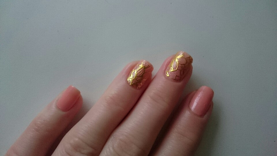 1 Sheet Embossed 3D Nail Stickers Flower 3D Nail Art Stickers Decals ...