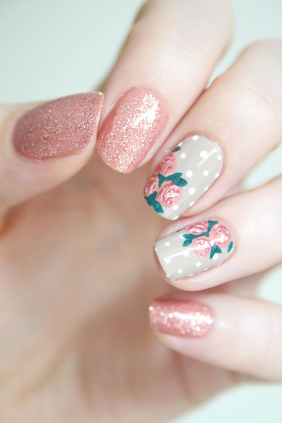 50 Sheets Floral Water Transfer Sticker Nail Art Design For Summer Fall Winter Spring