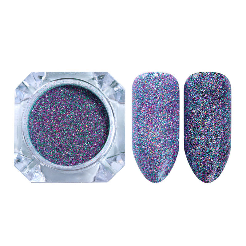 Starry Holographic Laser Powder Manicure Nail Art Glitter Powder Used with UV Gel Polish Nail Manicure