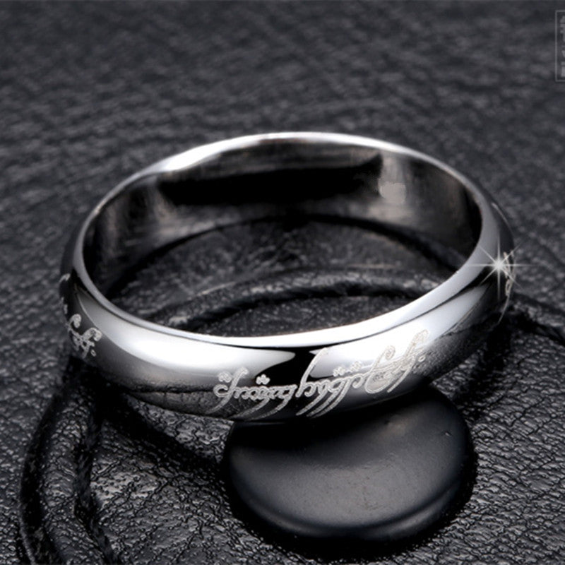 Tungsten Ring 316l Stainless Steel Ring