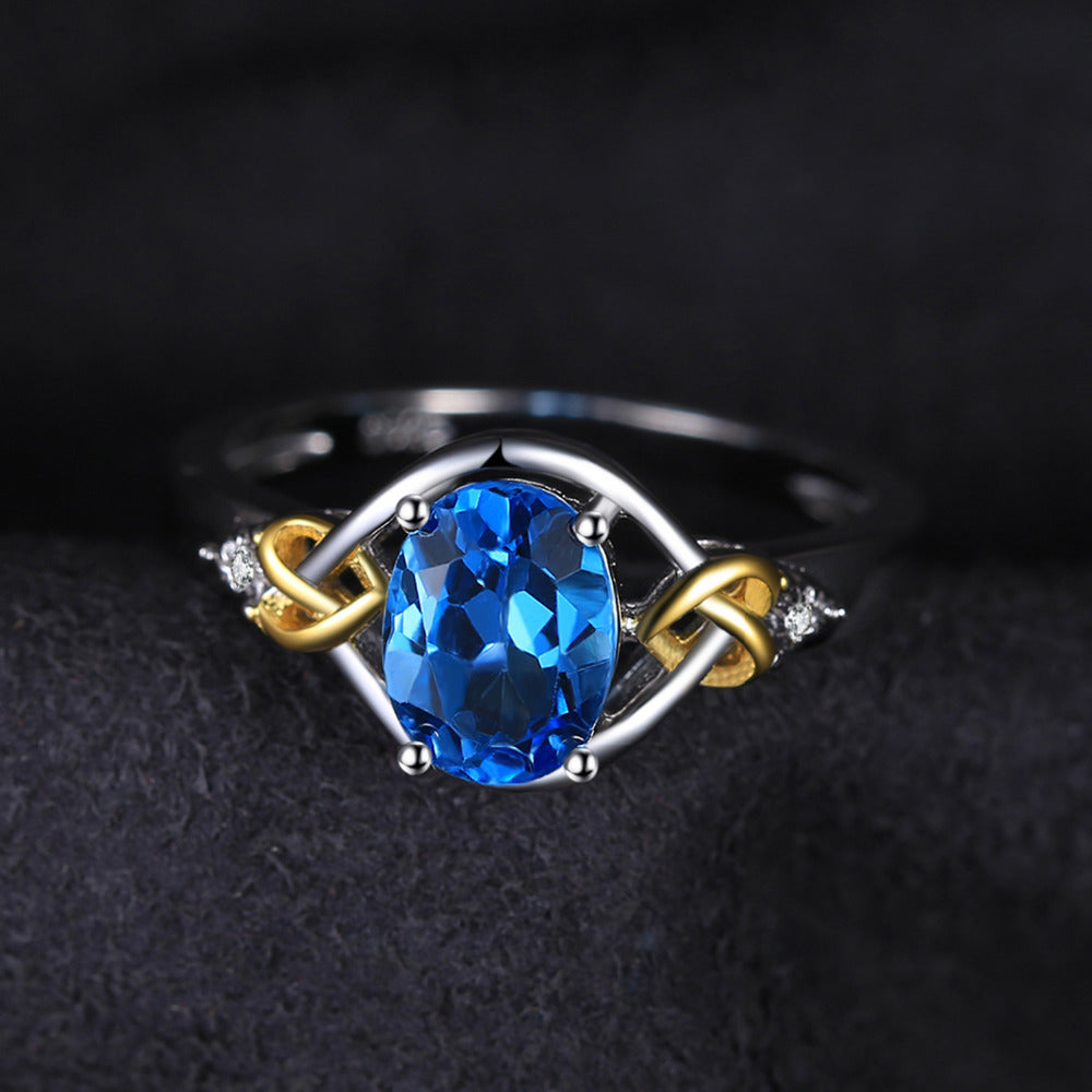 jewelry item flower fine sapphire edi natural type gold diamond rings design white engagement wedding from gifts real valentine in ring