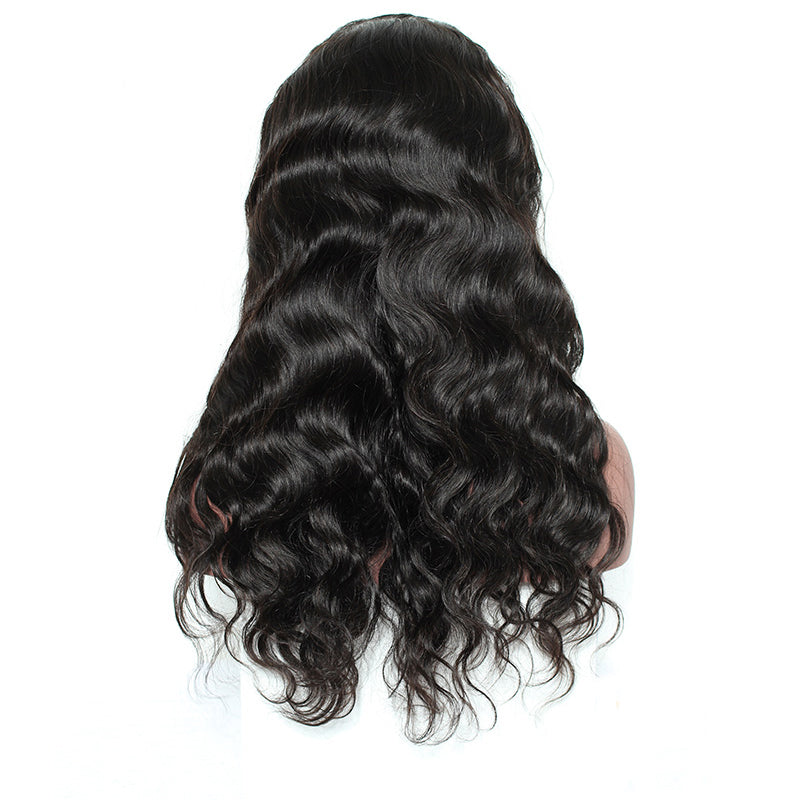 250% Denstiy Lace Front Human Hair Wigs With Baby Hair Pre Plucked Brazilian Body Wave Lace Front Wigs