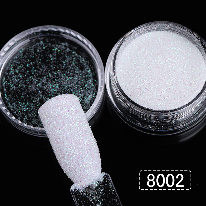 3 Boxes 1g Holographic Gradient Nail Glitter Powder Shining Sugar Glitter Pigment Dust Powder Manicure Nail Art Decoration