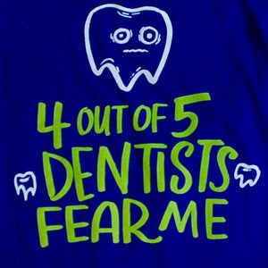 4 Out of 5 Dentists Fear Me