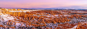 Custom printed yoga mat of Bryce Canyon National Park