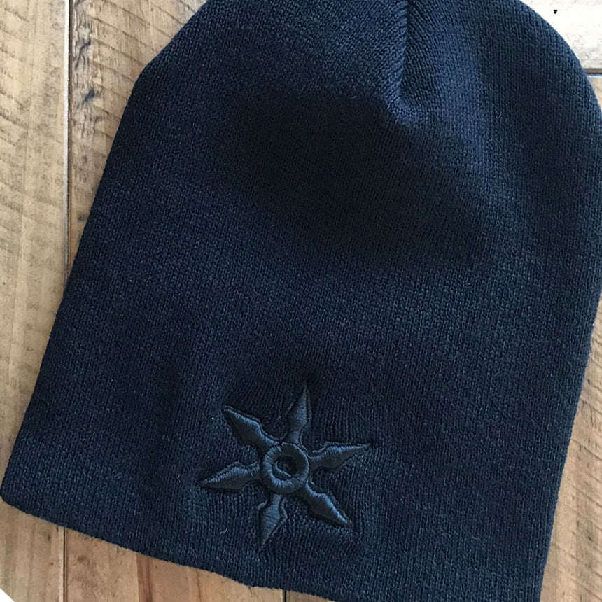 stageninjas - NINJA Embroidered Knit Beanie