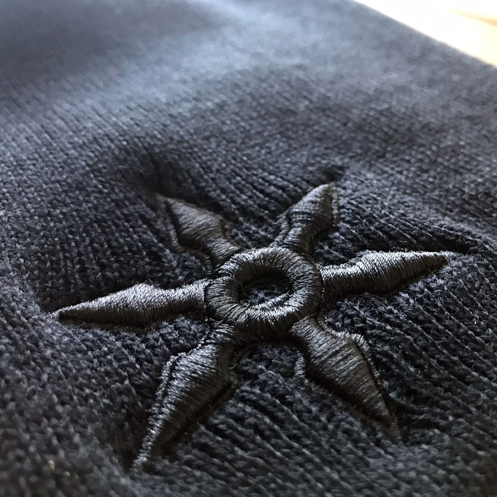 NINJA Embroidered Knit Beanie