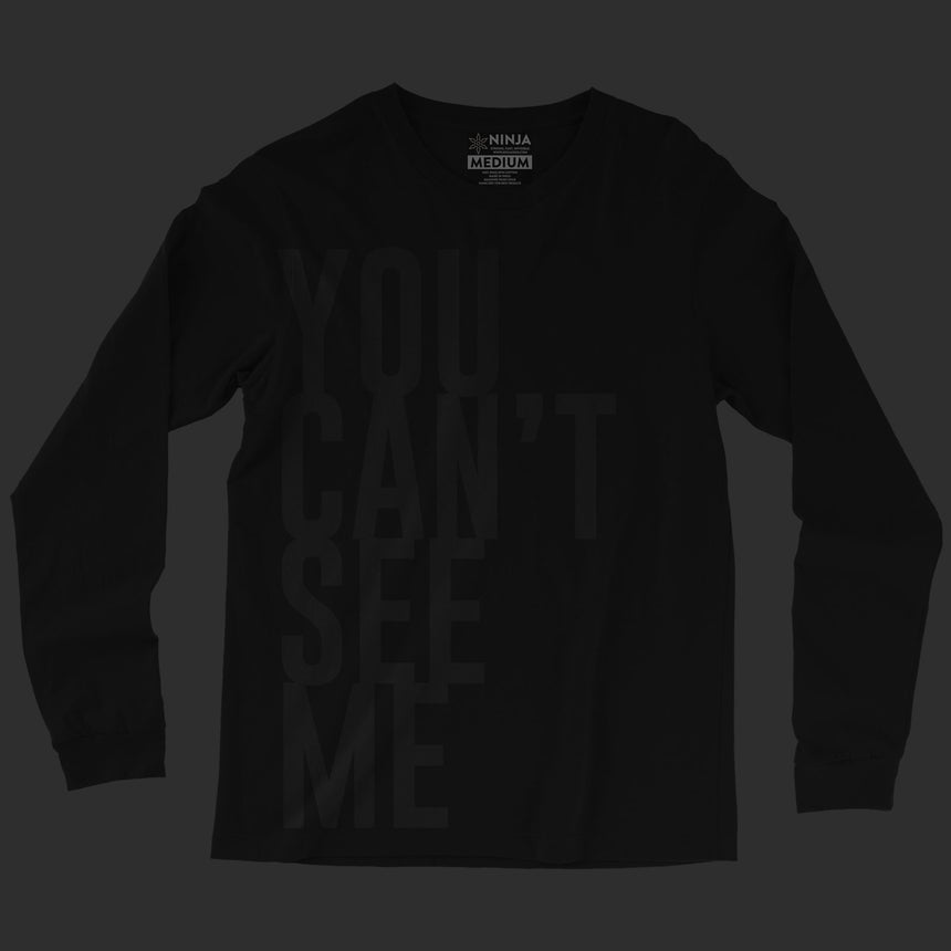 stageninjas - You Can't See Me Long Sleeve Tee