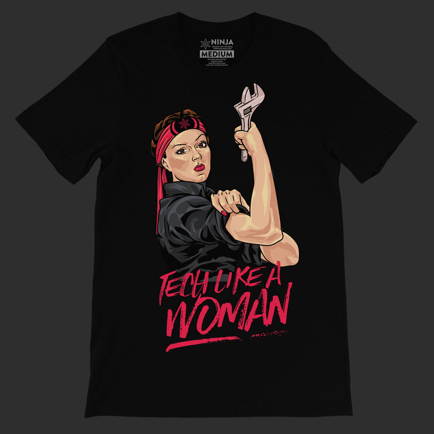 stageninjas - Tech Like a Woman Tee