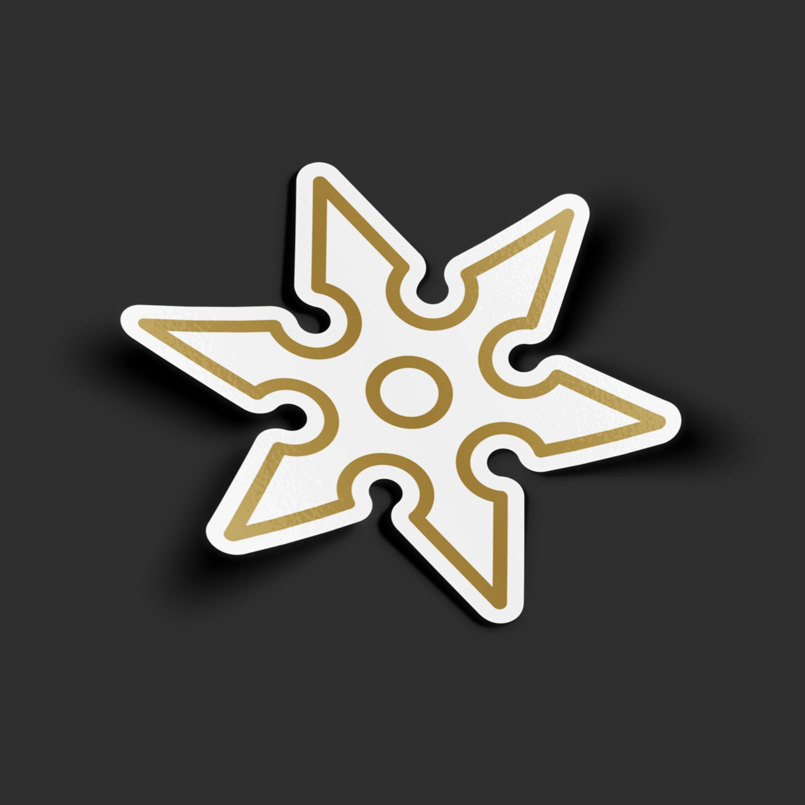 Ninja Star Sticker