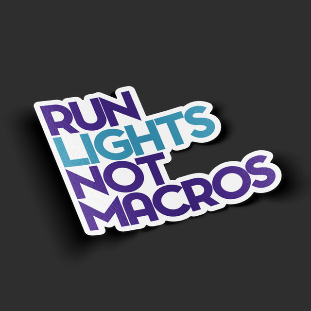 Run Lights Sticker