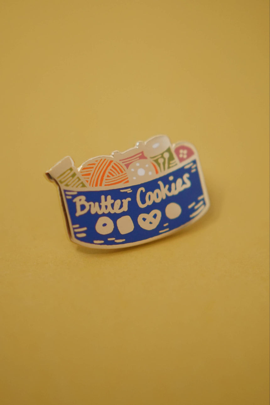 Butter Cookie Enamel Pin