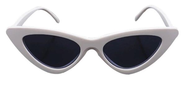 WHITE BOWIE SHADES
