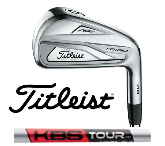 2018 Titleist 718 AP2 Irons KBS C-Taper Satin Steel