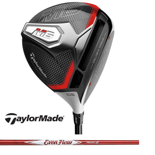 New Taylormade 2019 Driver M6 460cc Project X Evenflow Max Carry 50 Graphite Senior Regular Stiff Right-Handed Left-Handed 9 10.5 12