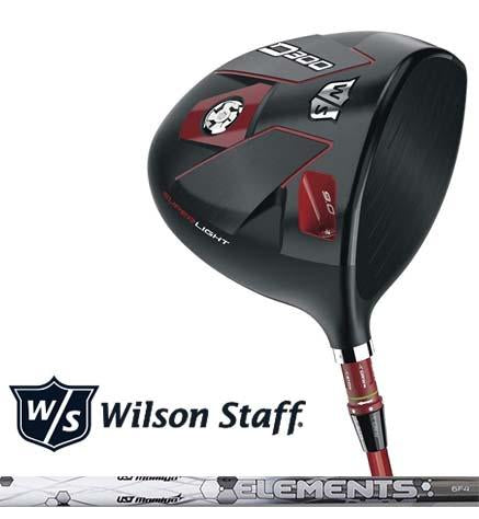 New Wilson Staff Golf 2018 D300 Driver, UST Elements Chrome 6 Graphite Shaft, Regular Stiff X-Stiff, Right-Handed Left-Handed, 9 10 or 13 Degree Head