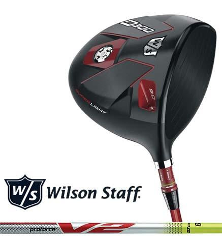 New Wilson Staff Golf 2018 D300 Driver, UST Proforce V2 Yellow 6 Graphite Shaft, Regular Stiff X-Stiff, Right-Handed Left-Handed, 9 10 or 13 Degree Head