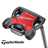 2018 Taylormade Spider tour Black Putter Mallet Slant Neck without Sightline Steel