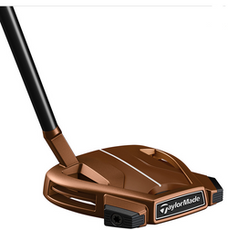 2019 Taylormade Spider X Copper Putter Mallet Slant Neck with Single Sightline Steel