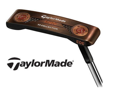 2018 Taylormade TP Black Copper Soto Putter Blade Steel