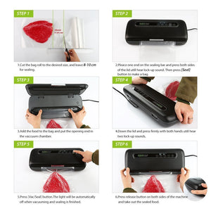 Razorri E5200-M Vacuum Sealer Instruction