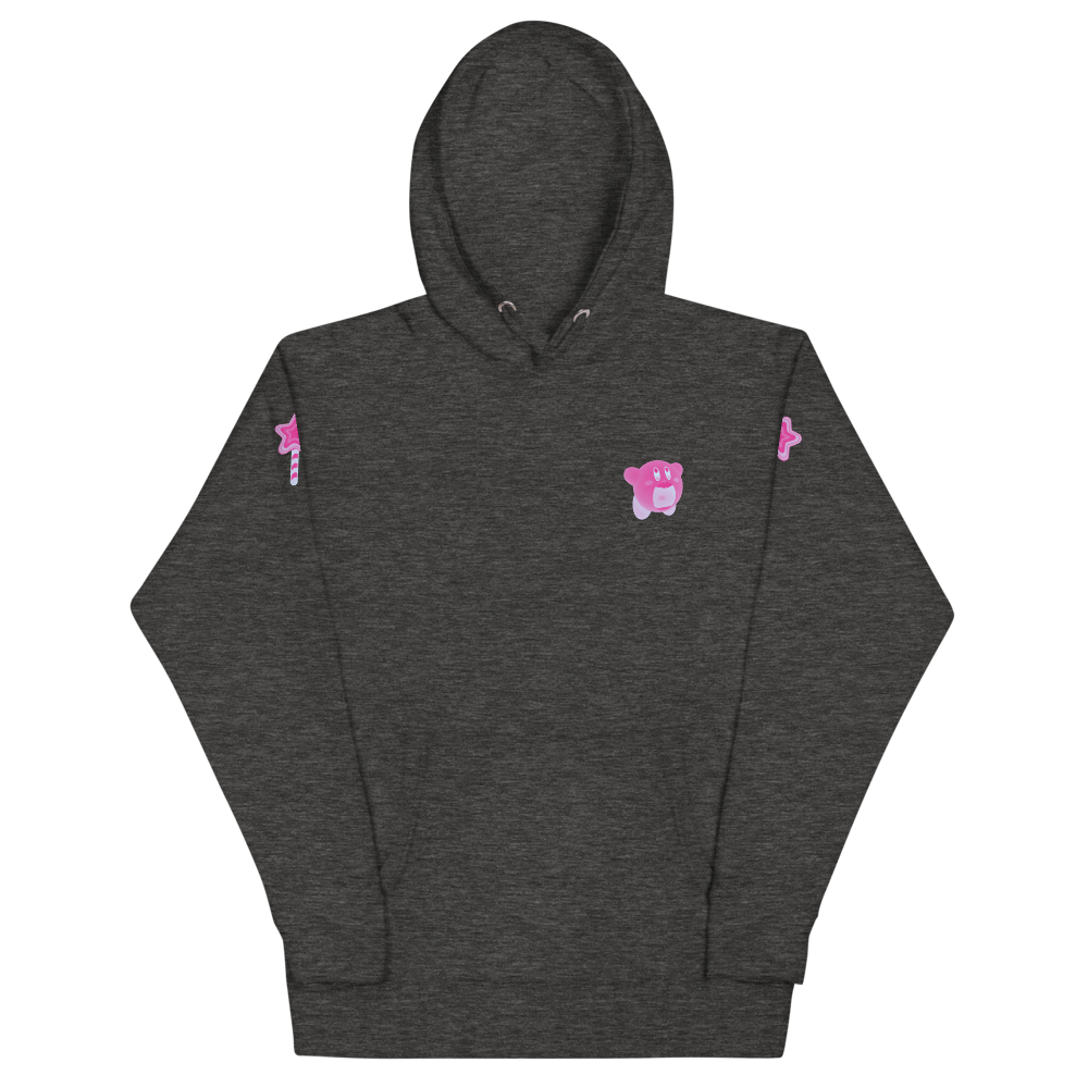 KIRBY AVALANCHE PINK | NAVY HOODIE