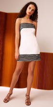 INCISE SHORT DRESS