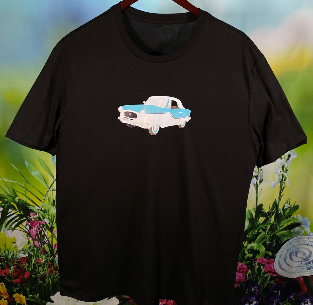 1950s Nash Metropolitan Classic Car Unisex Men's T-Shirt Hot Rod