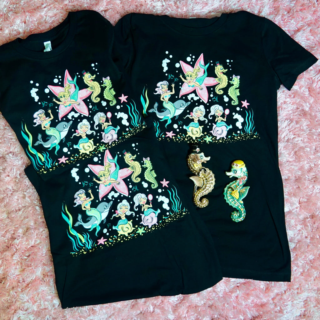 Vintage Lefton Mermaid T-Shirt
