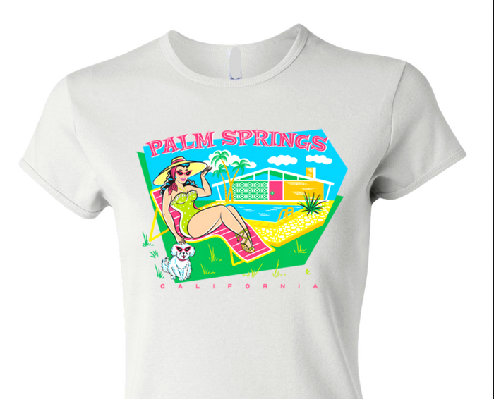 Mid-Century Modern Palm Springs T-Shirt