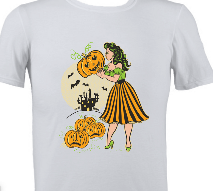 Pumpkin Princess Halloween T-Shirt