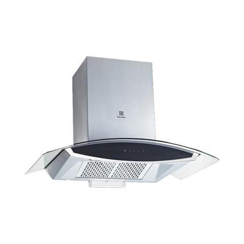 Electrolux 90cm Curved Glass Chimney Hood EFC925GAC