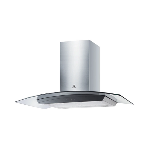 Electrolux 90cm Curved Glass Chimney Hood EFC936GAR | ESH Online