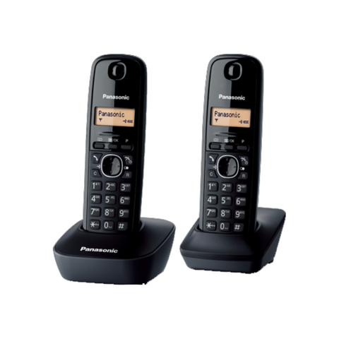 Panasonic Twin Cordless DECT Phone KX-TG1612ML