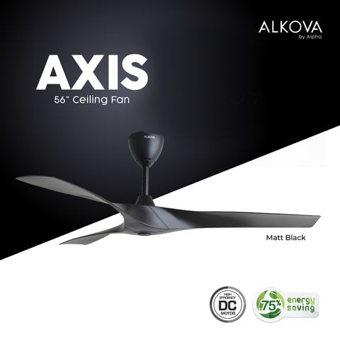 "Alkova AXIS 56"" Ceiling Fan 