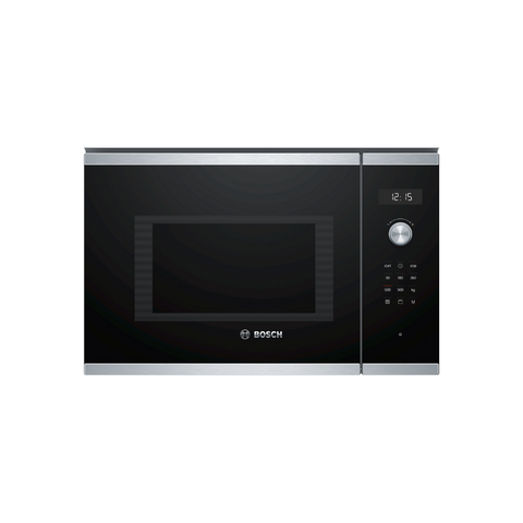 Bosch BEL554MS0B 25L Built-In Stainless Steel Microwave