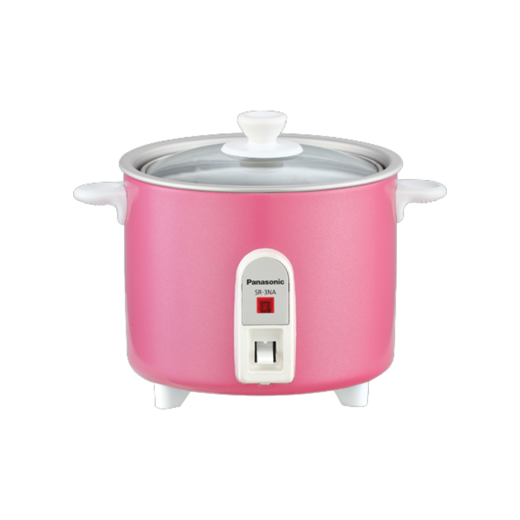Panasonic (Blue/Pink) 0.3L Baby Rice Cooker SR3NA | ESH Online