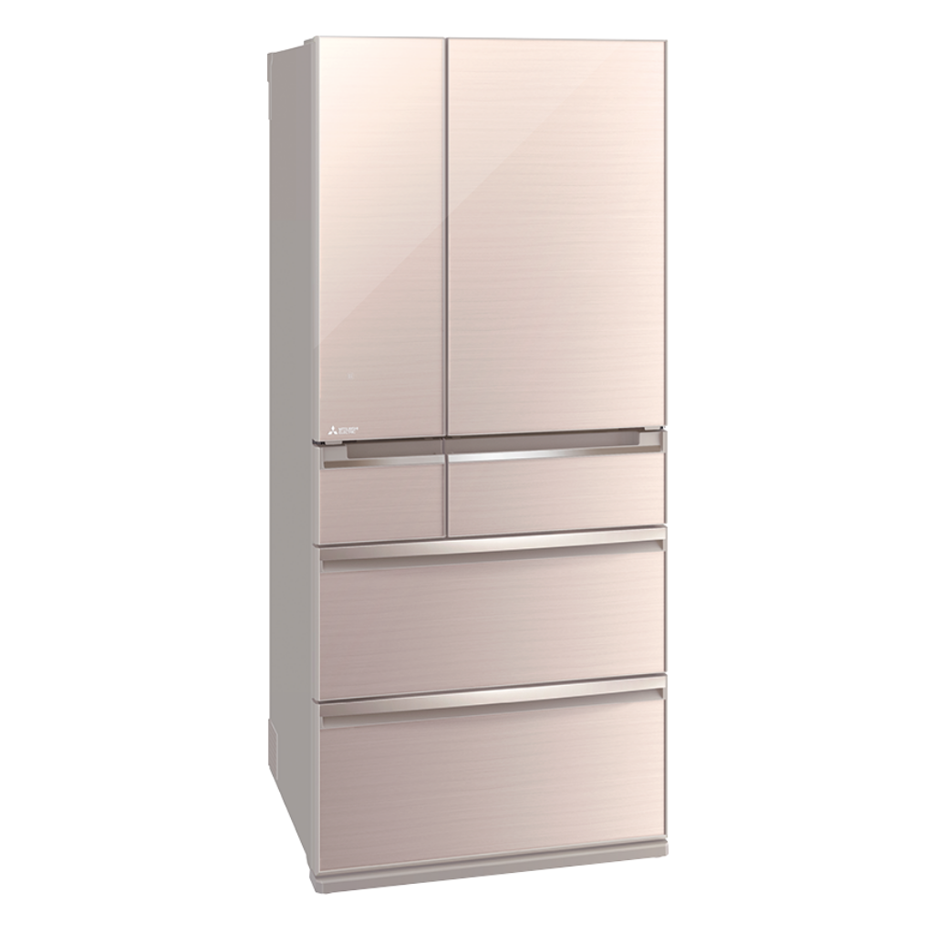 Mitsubishi MRWX71Y 743L Multi Drawer Glass Door Refrigerator | ESH