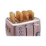 Morphy Richards 240117 Evoke Special Edition Rose Quartz 4 Slice Toaster