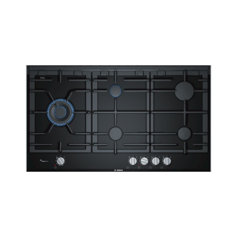 BOSCH PRS9A6D70 Serie 8 90cm Gas Hob with Ceramic Glass | ESH Online
