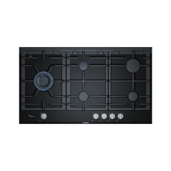 BOSCH PRS9A6D70 Serie 8 90cm Gas Hob With Ceramic Glass