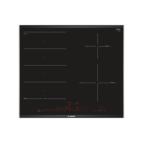 BOSCH 60cm Serie 8 Built in Induction Hob PXE675DC1E